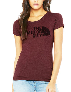 Womens Short Sleeve Just Love The Motor City