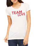 Womens Short Sleeve Team Love Tee