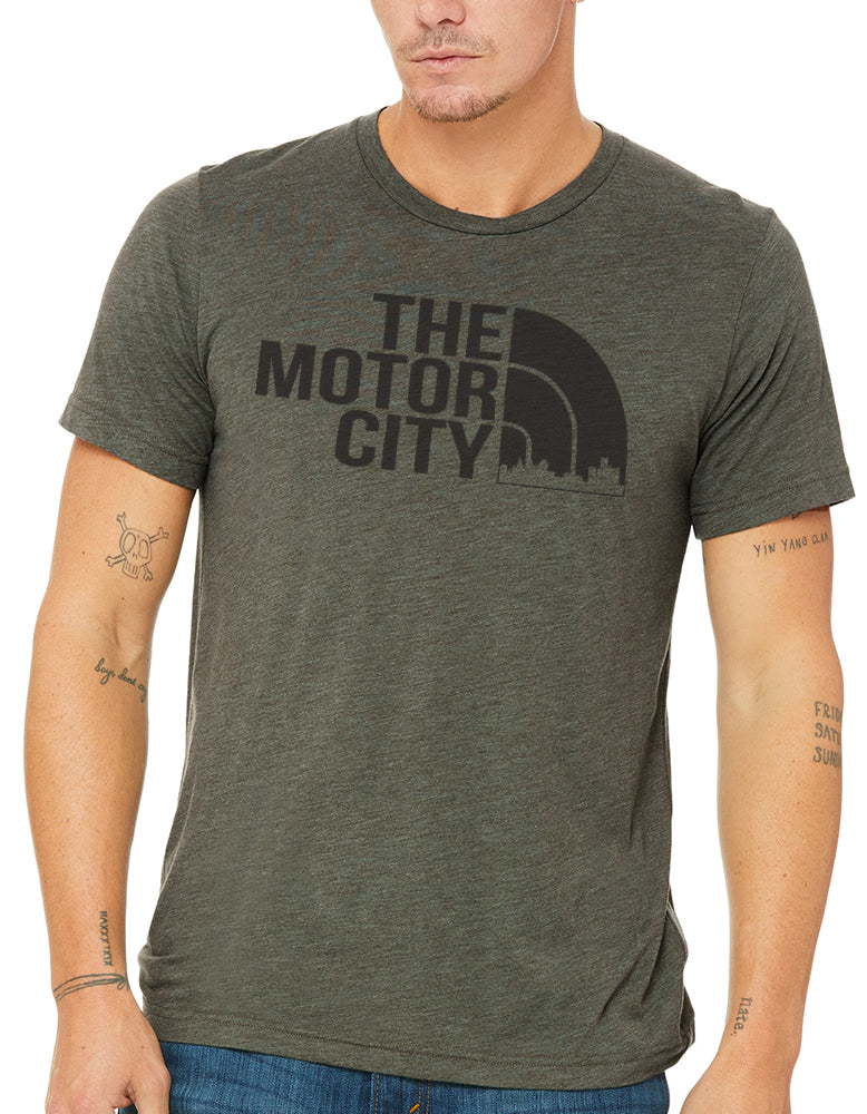Mens Just Love The Motor City