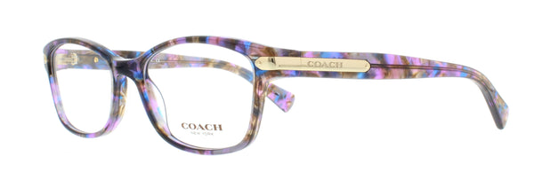 Coach HC6065 Eyeglasses - Confetti Purple (5288)