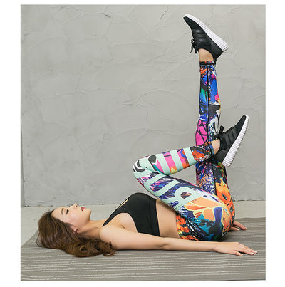 High quality 3D Italian printing  Pants  For Women