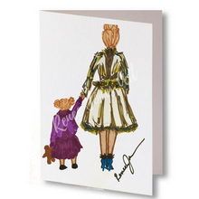 Holding Hands Greeting Card & Art 10 - Pack