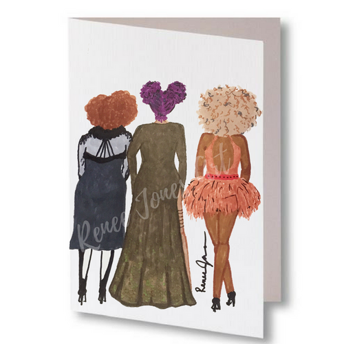 Girls Night Out Greeting Card & Art 10 - Pack