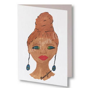 Sista Bun Greeting Card & Art 10 - Pack