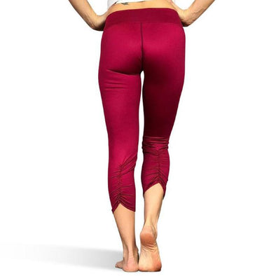 Ruby Red Capris