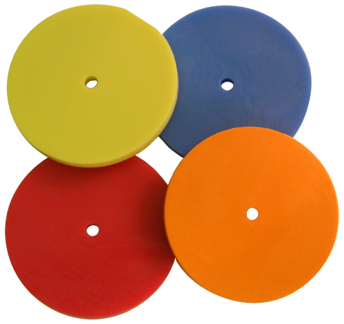 Plain Plastic Disk (No Text)