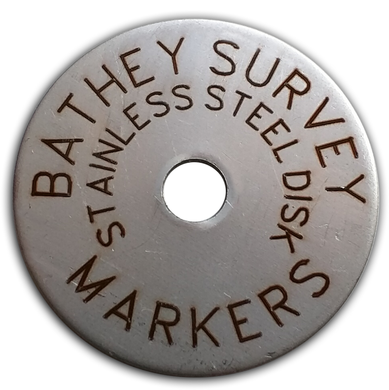 "1 1/2"" Stainless Disk - Laser Engraved"