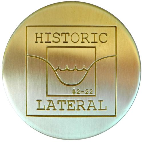 Brass Monument Marker - Machined Engraved