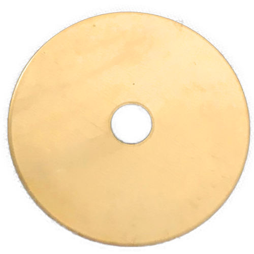 Brass Disk - Plain (no text)