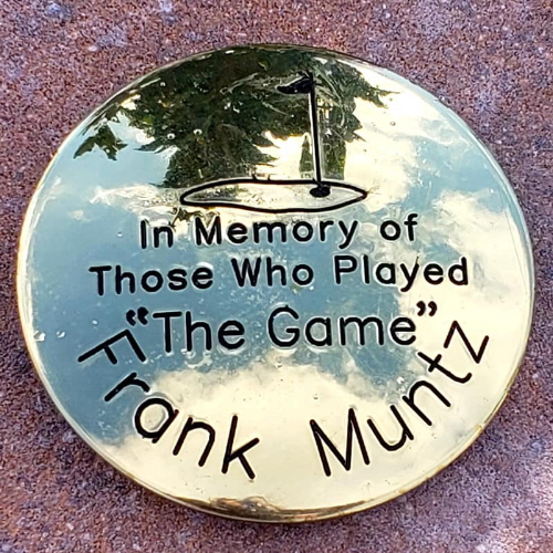 Commemorative Brass Monument Marker - Machined Engraved