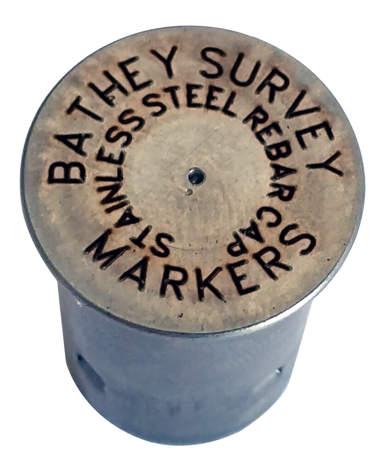 Stainless Steel Rebar Cap - Laser Marked - Regular Top