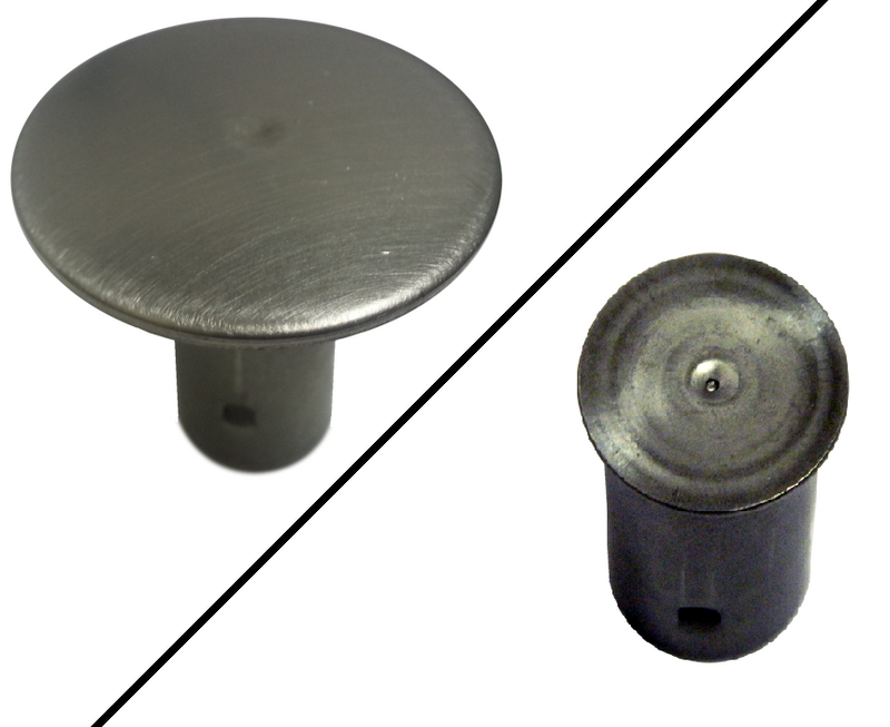 Stainless Steel Rebar Cap - Plain