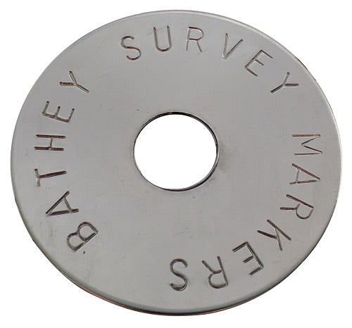 stainless steel disk survey marker