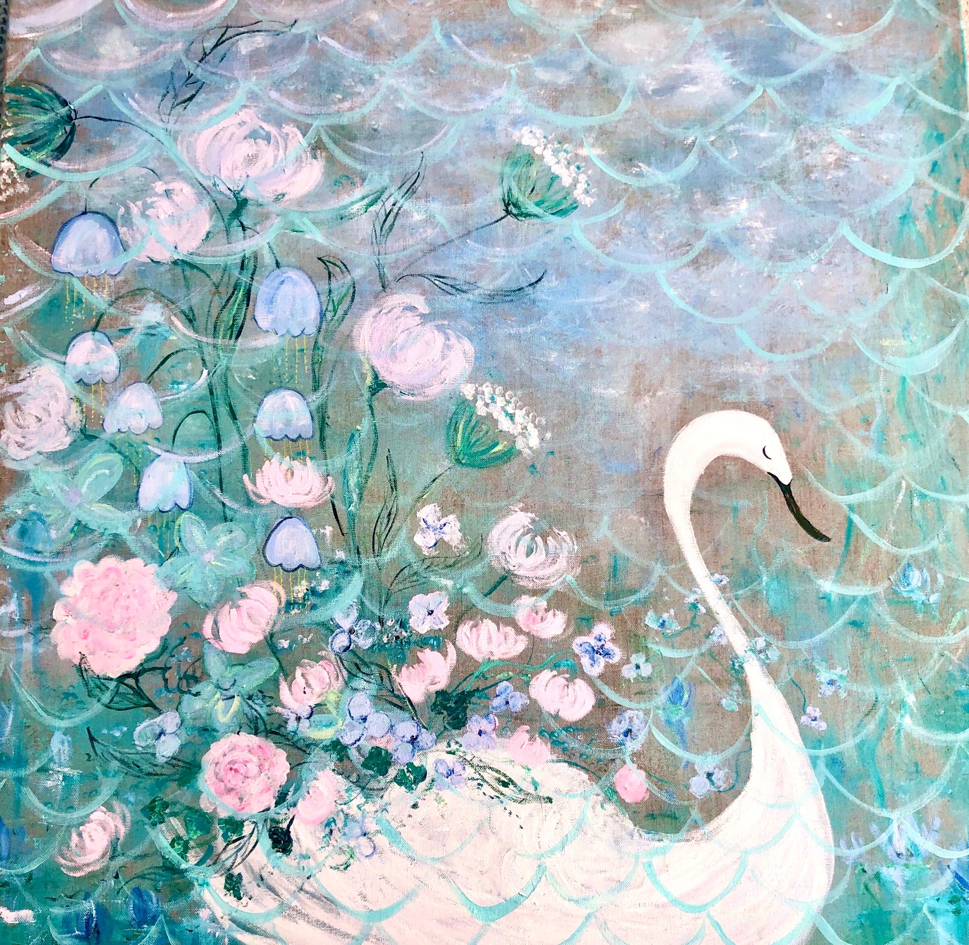 Swan Lake Original Artwork