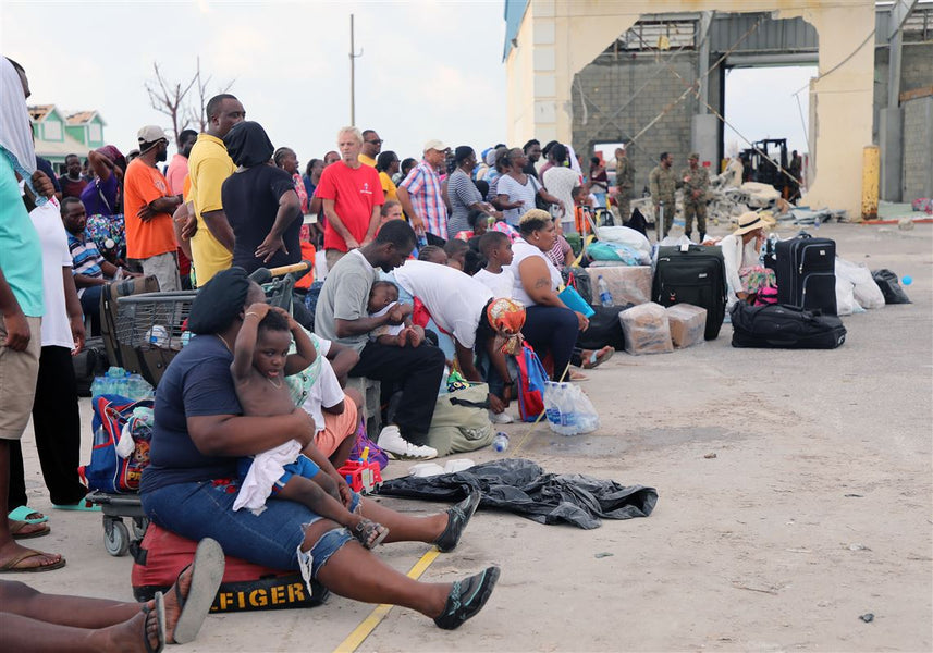 Hundreds of Bahamas evacuees were told to get off a ferry headed to the US