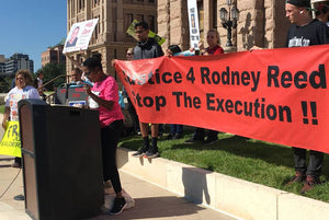 Protesters Take Fight For Rodney Reed's Life To The Texas Governor's Mansion