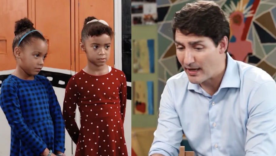 Girls Confront Canadian PM Justin Trudeau Over His Blackface Scandals