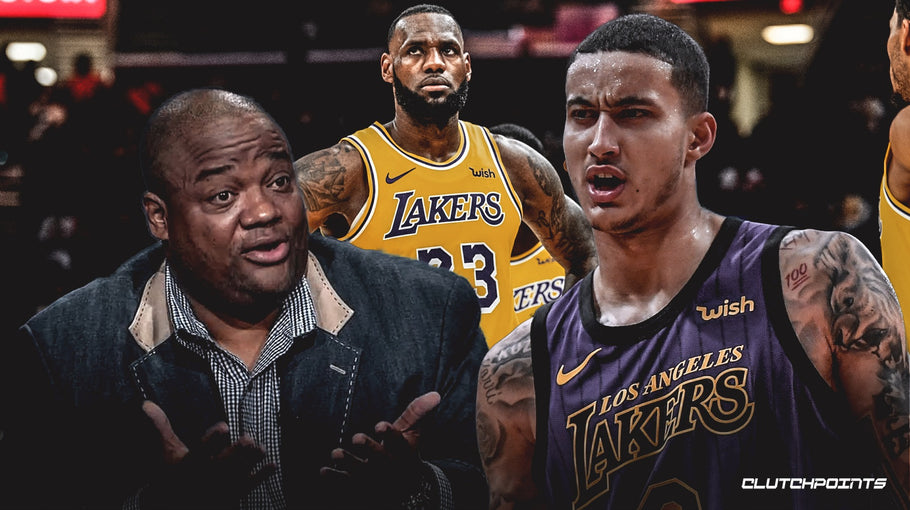 Lakers' Kyle Kuzma reacts to Jason Whitlock criticizing LeBron James' behavior at Bronny's games