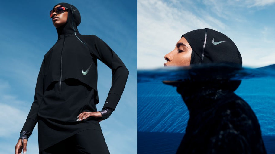 Nike Launches New Swimwear Line Designed For Women Who Wear A Hijab