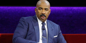 Steve Harvey Big Mad After Rob Gronkowski Spiked His Lego Head