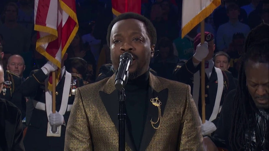 Anthony Hamilton  Rendition of the National Anthem is getting Compared to Marvin Gaye's