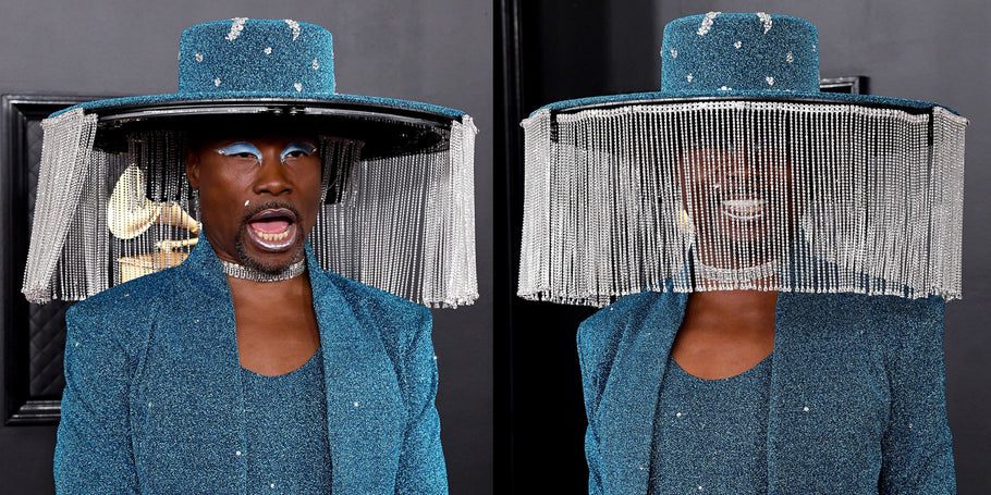 BILLY PORTER'S GRAMMYS HAT INSPIRED A WHOLE LOT OF  MEMES
