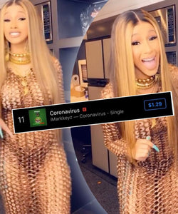 Imarkkeyz's Cardi B Coronavirus Rant Lands On Pop Charts