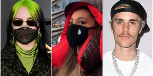 Ariana Grande, Justin Bieber, Billie Eilish release face masks for charity