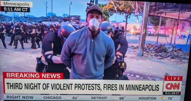 Police Arrest CNN Reporter, Crew Covering Minneapolis Protests Live On Air