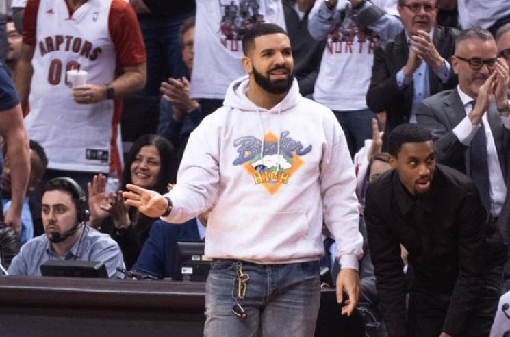 Drake Channels the 90s  in a 'Breaker High' Hoodie