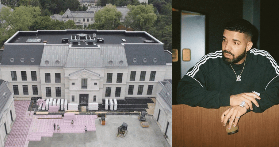 Inside Rapper Drake's Manor House in Hometown Toronto