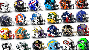 Artist Reveals Bold New Helmet Designs For All 32 NFL Teams