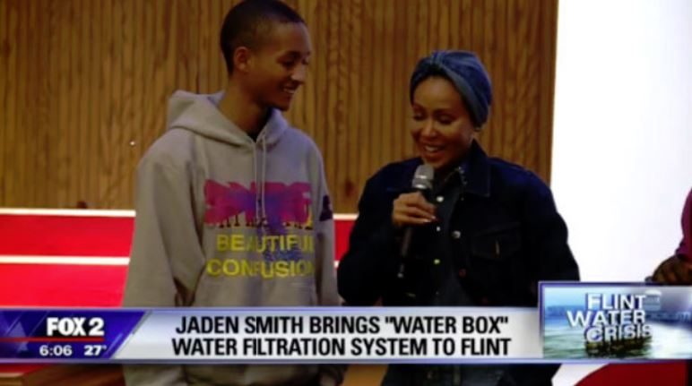Flint Church In Need Of Clean Drinking Supply Gets Help From Jaden Smith