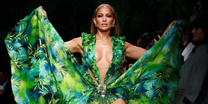 Jennifer Lopez returns in *that* green dress for Versace 2020