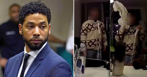 Chicago police release footage of Jussie Smollett with noose around neck