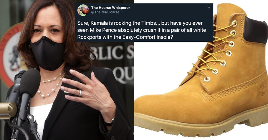 Kamala Harris may have made Timberland boots cool again