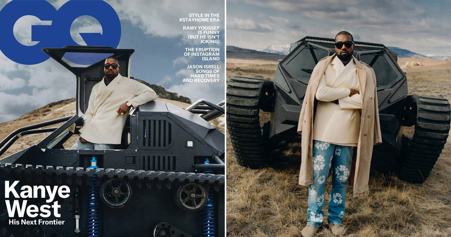 Kanye West Makes the cover of GQ and compares himself to Superman