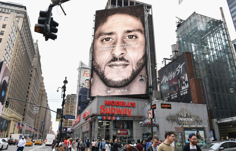 Kaepernick Nike ad wins Emmy for 'Outstanding Commercial'