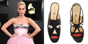 Katy Perry faces criticism over shoe design resembling blackface