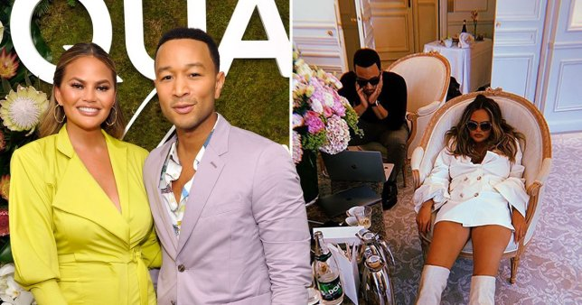 Chrissy Teigen Trolls Husband John Legend on Twitter After He's Named Sexiest Man Alive