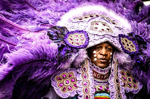 Mardi Gras Indians Turn New Orleans's Biggest Celebration Into A Day Of Rebellion
