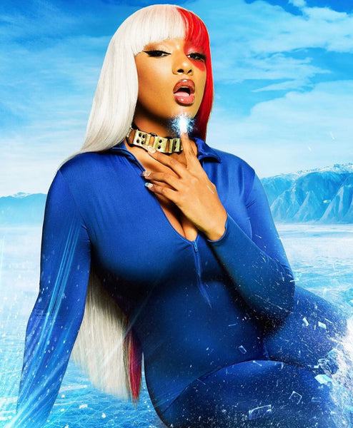 Megan Thee Stallion Goes Full Shoto Todoroki in Icy Hot Photo Shoot