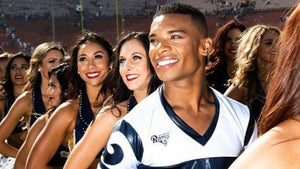 NFL Cheerleader Napoleon Jinnies: 'I Was Bullied For Being Gay'