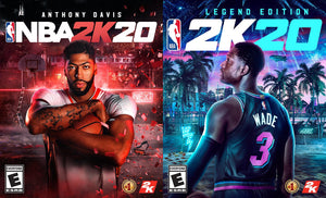 Anthony Davis and Dwyane Wade are NBA 2K20's Cover Stars