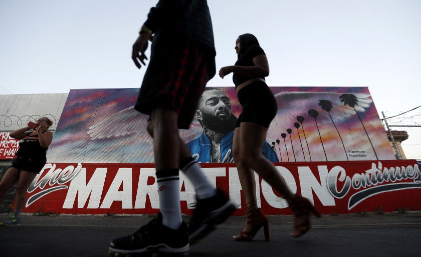 Large Crowds Expected at Nipsey Hussle's South L.A. Store for His Birthday
