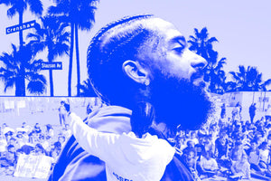 LeBron James Leads the Charge to Rename Crayola Crayon Bluetiful to Nipsey Blue