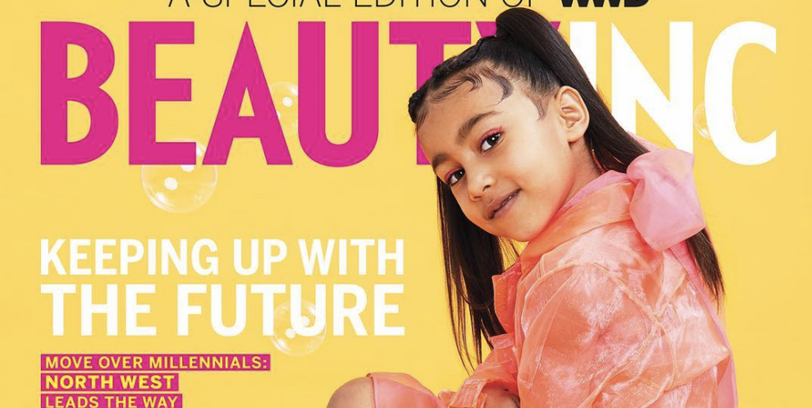 North West Becomes A Cover Girl At Age 5!!