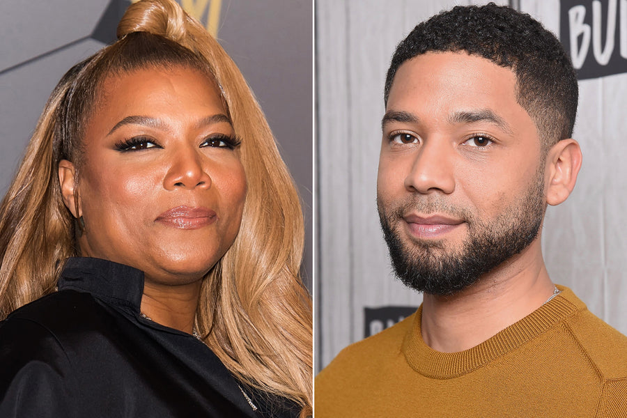 Queen Latifah standing by Jussie Smollett after alleged staged attack until she sees 'some definitive proof'