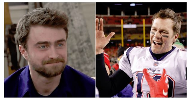 Daniel Radcliffe to Tom Brady: 'Take That MAGA Hat Out of Your Locker'