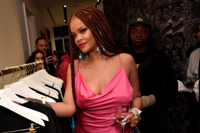 Rihanna Dazzles at Fenty pop-up event in New York